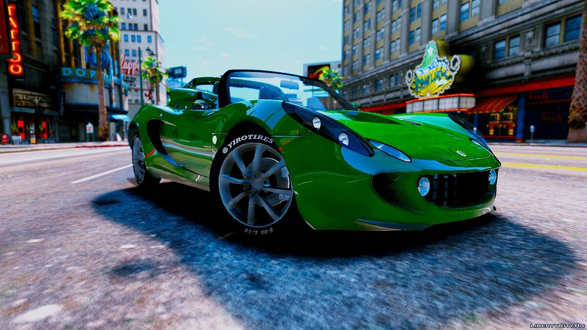 Lotus car Lotus Elise 111S 2005 [Add-On / Replace | OIV | Tuning | Template | Wiper | Dirtmap | Animated Engine | HQ] 1.0 for GTA 5