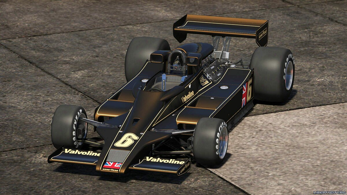Lotus car 1977 Lotus 78 Cosworth [Add-On / Replace | Liveries | Template] 1.0 for GTA 5