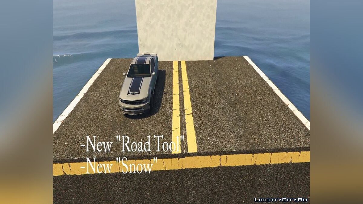 Map editor Map Builder 2.0 for GTA 5