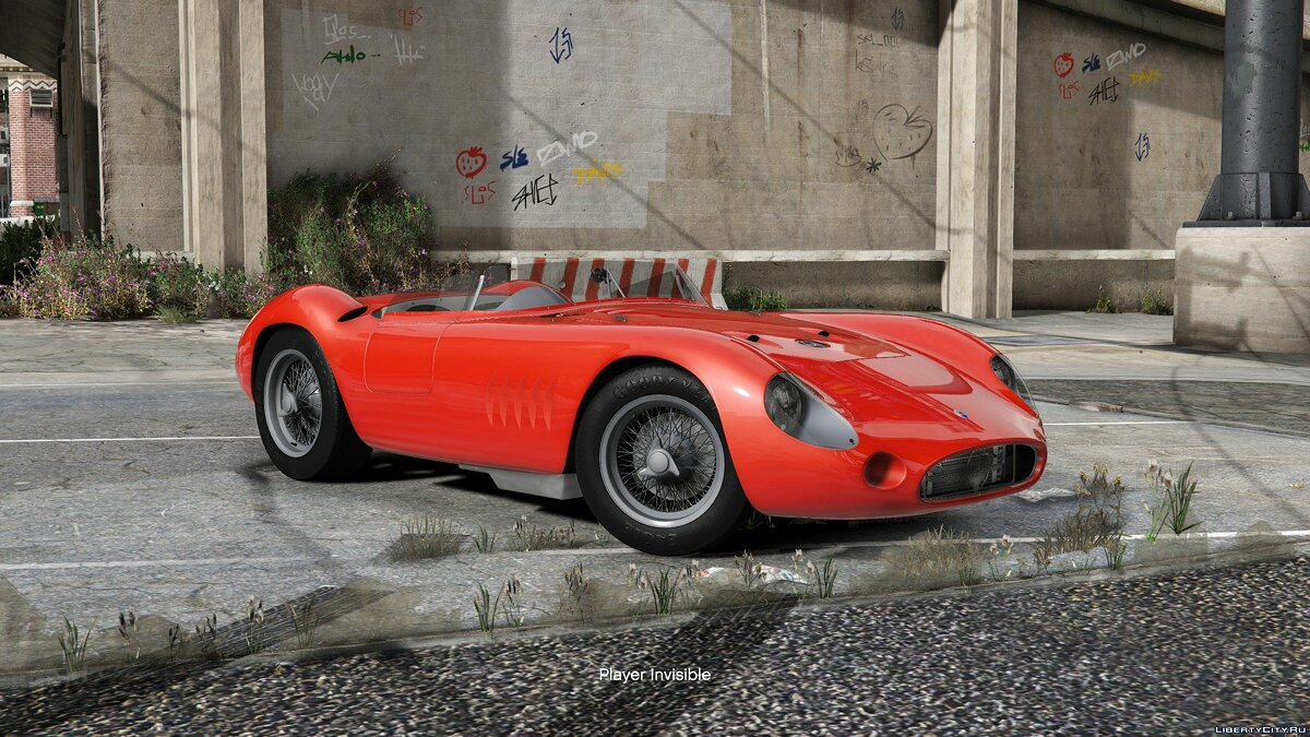 Maserati car 1957 Maserati 300S 1.0 for GTA 5