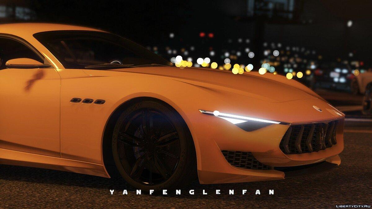 Maserati car Maserati Alfieri 2014 Concept Car [Add-On | HQ] 1.5 for GTA 5