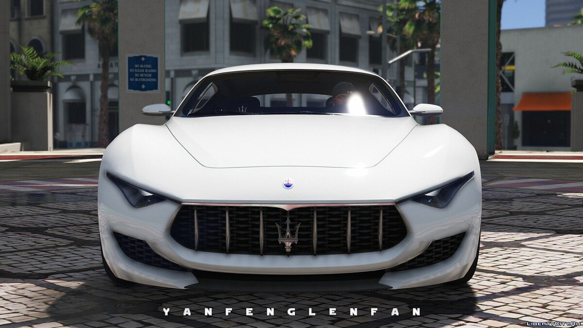 Maserati car Maserati Alfieri 2014 Concept Car [Add-On | Digital gear | HQ] 2.0 for GTA 5