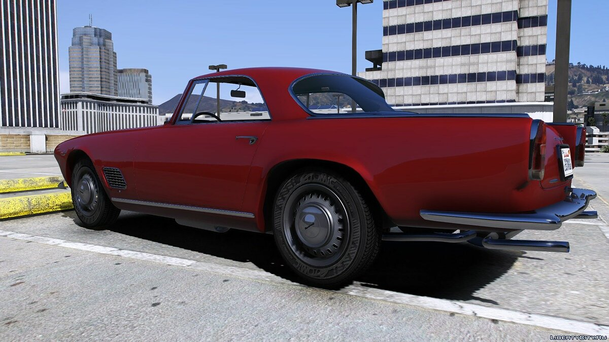 Maserati car 1961 Maserati 3500 GT [Replace] 1.1 for GTA 5