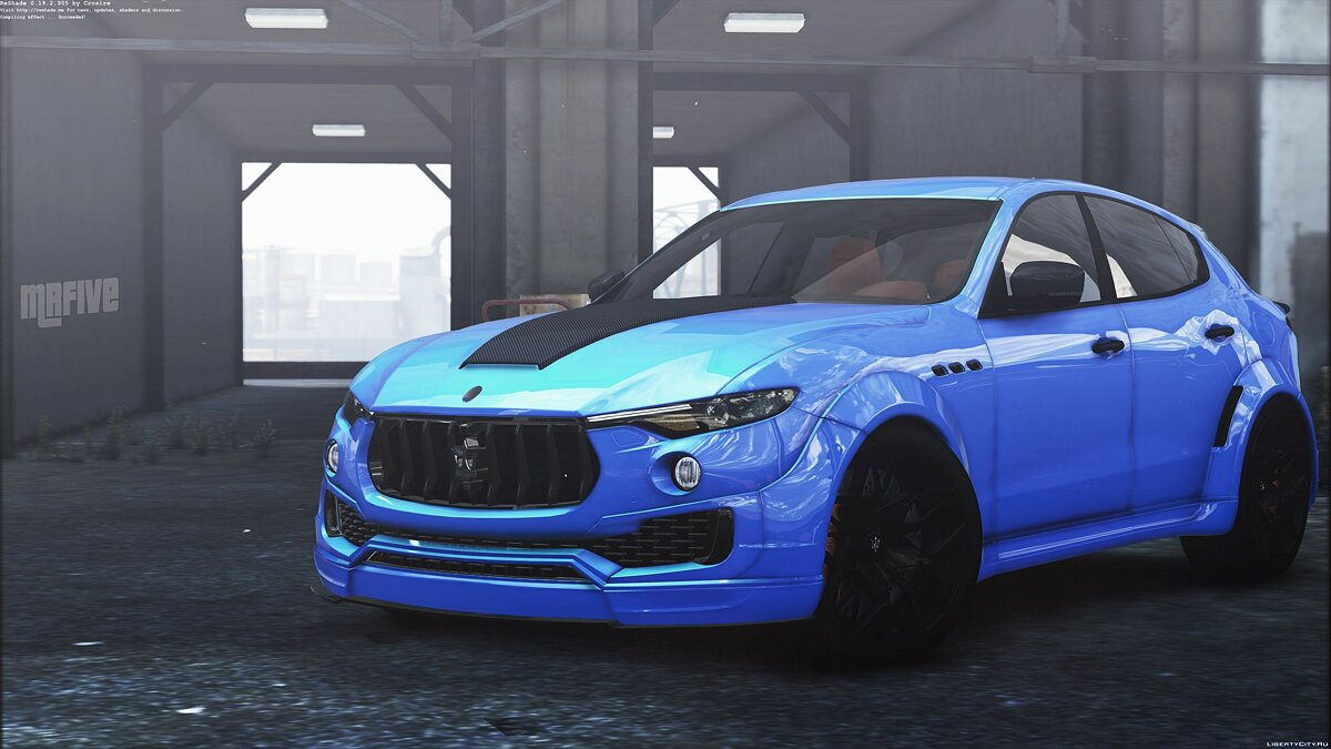 Maserati car Maserati Levante Novitec [Add-on] 1.0 for GTA 5