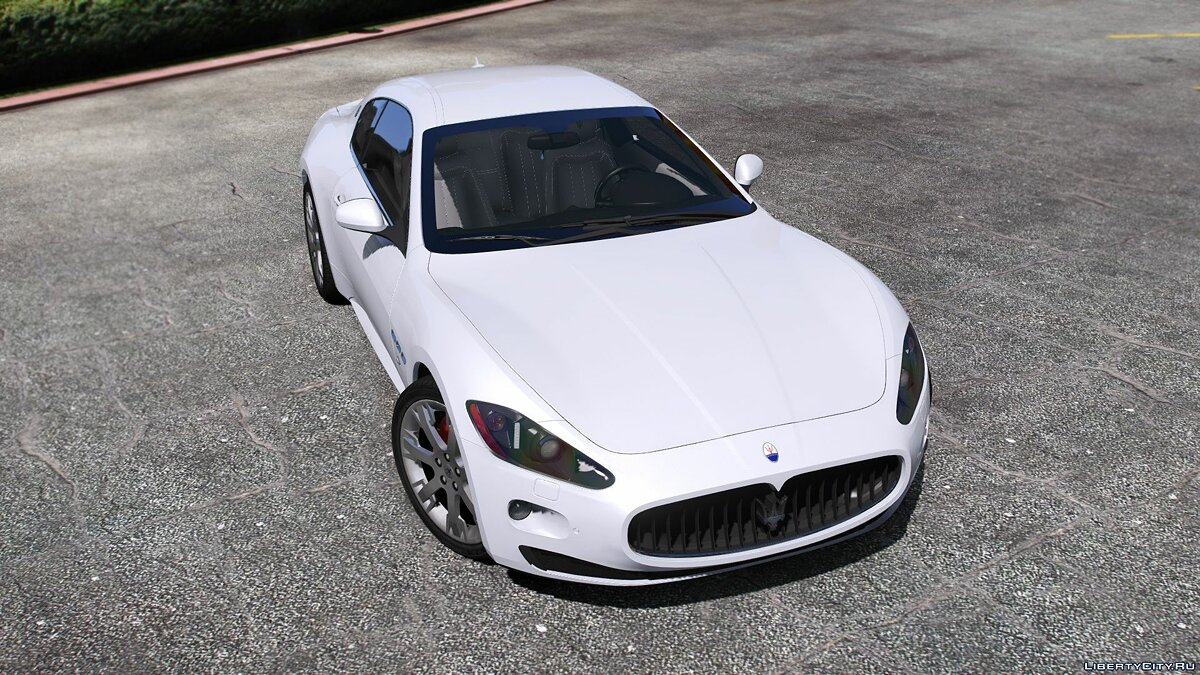 Maserati car Maserati GranTurismo S [Add-On / Replace] 1.0 for GTA 5