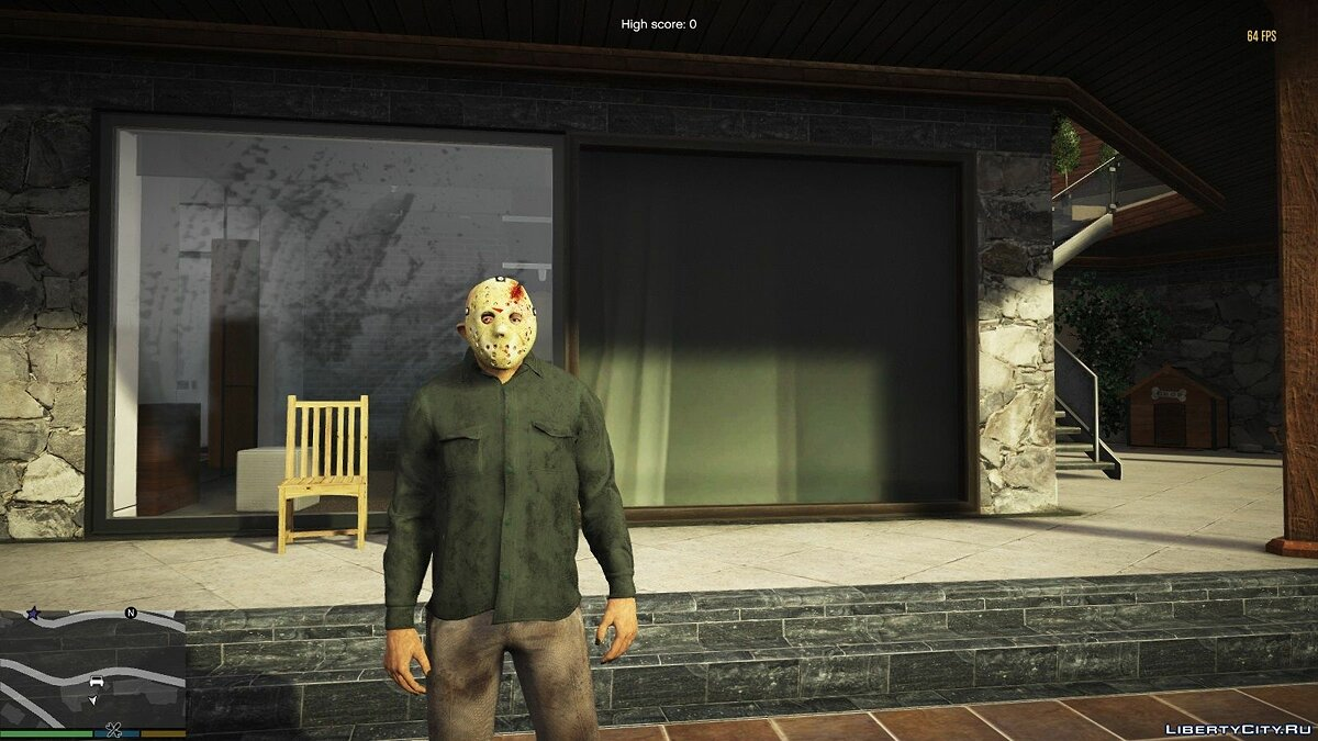 New mask Mask of Jason Voorhees for GTA 5