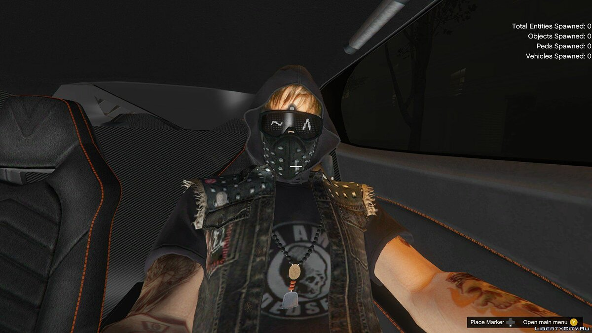New mask WatchDogs 2 Wrench Mask for MP Male for GTA 5