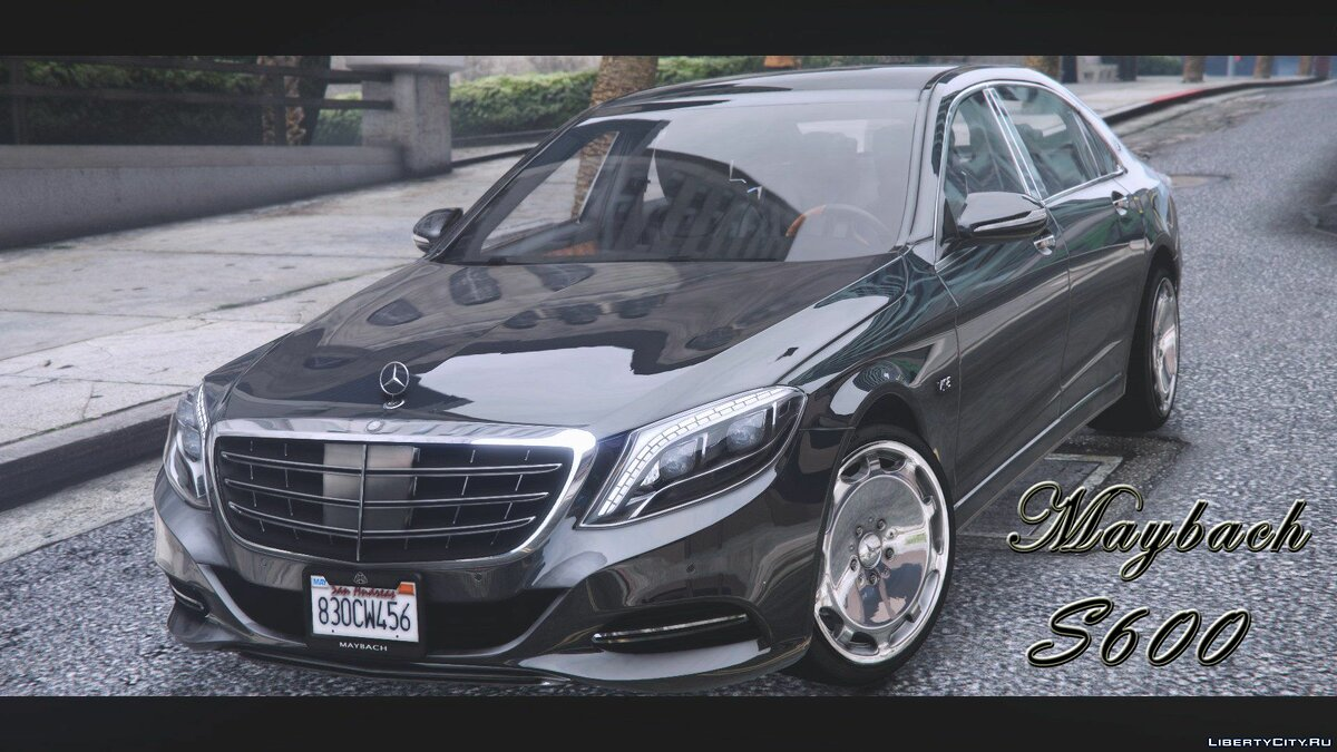 Maybach car Maybach S600 2016 [Replace] 1.0 for GTA 5