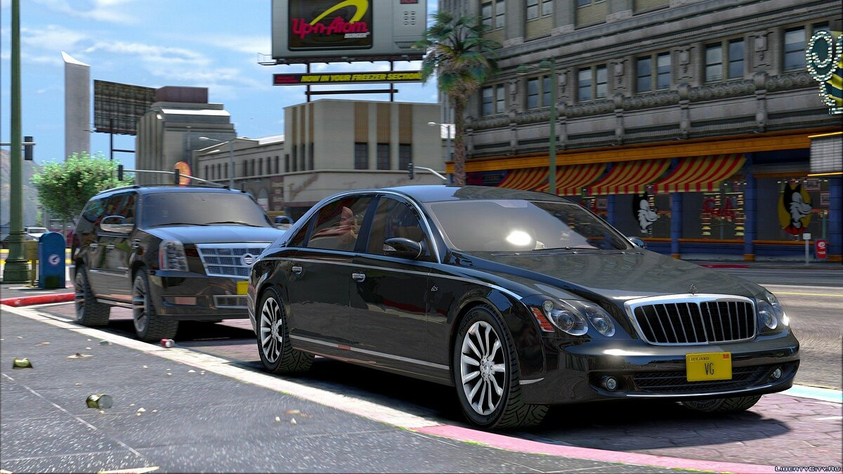Maybach car Maybach 62S for GTA 5
