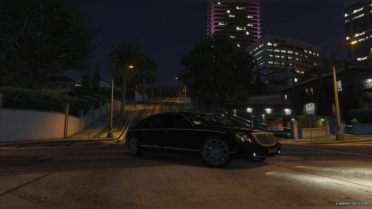 Maybach car 2009 Maybach 62 S [Add-On] 1.2 for GTA 5