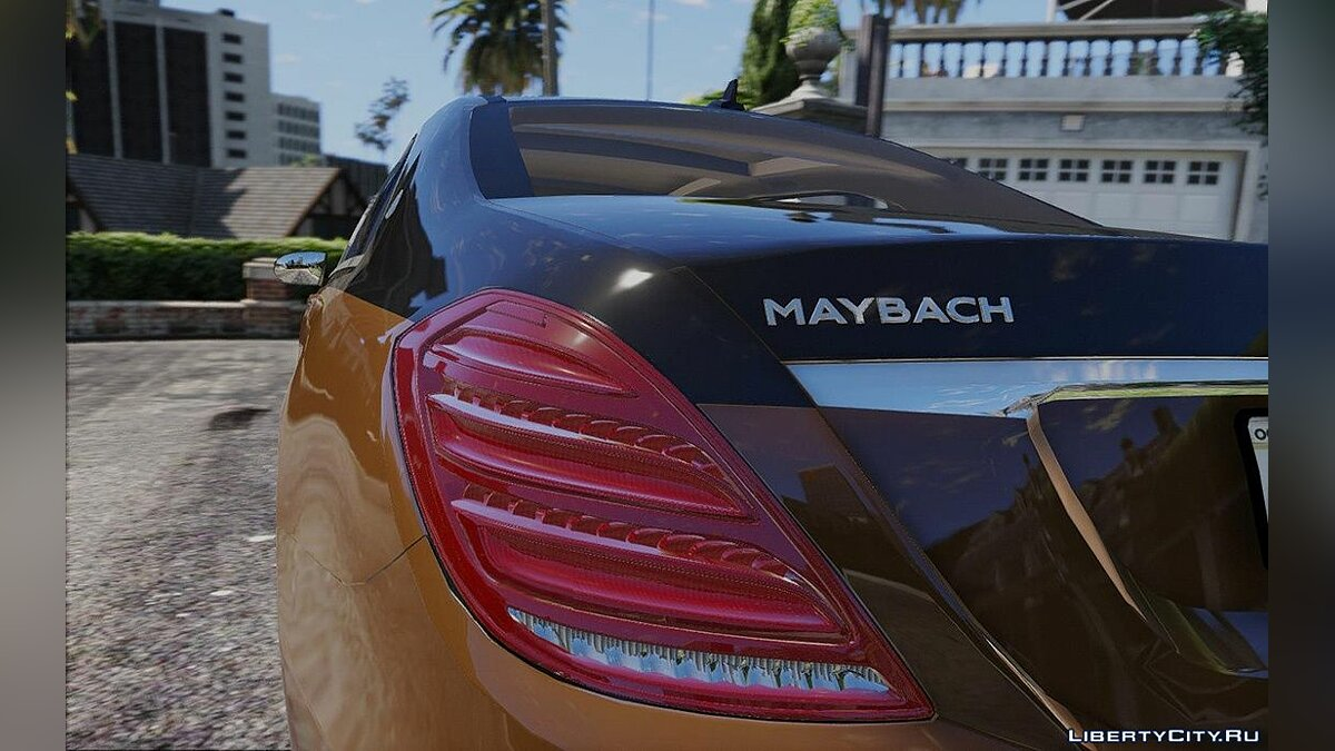 Maybach car 2018 Maybach S650 AB 1.0 for GTA 5