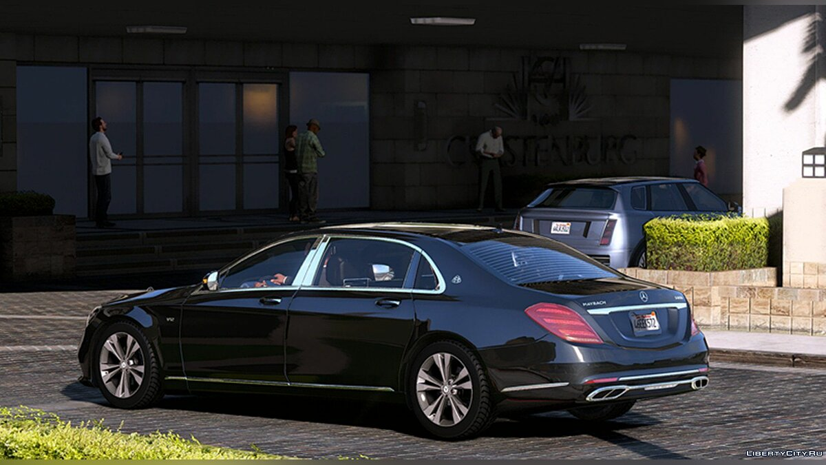 Maybach car 2018 MB-Maybach S650 1.0 for GTA 5