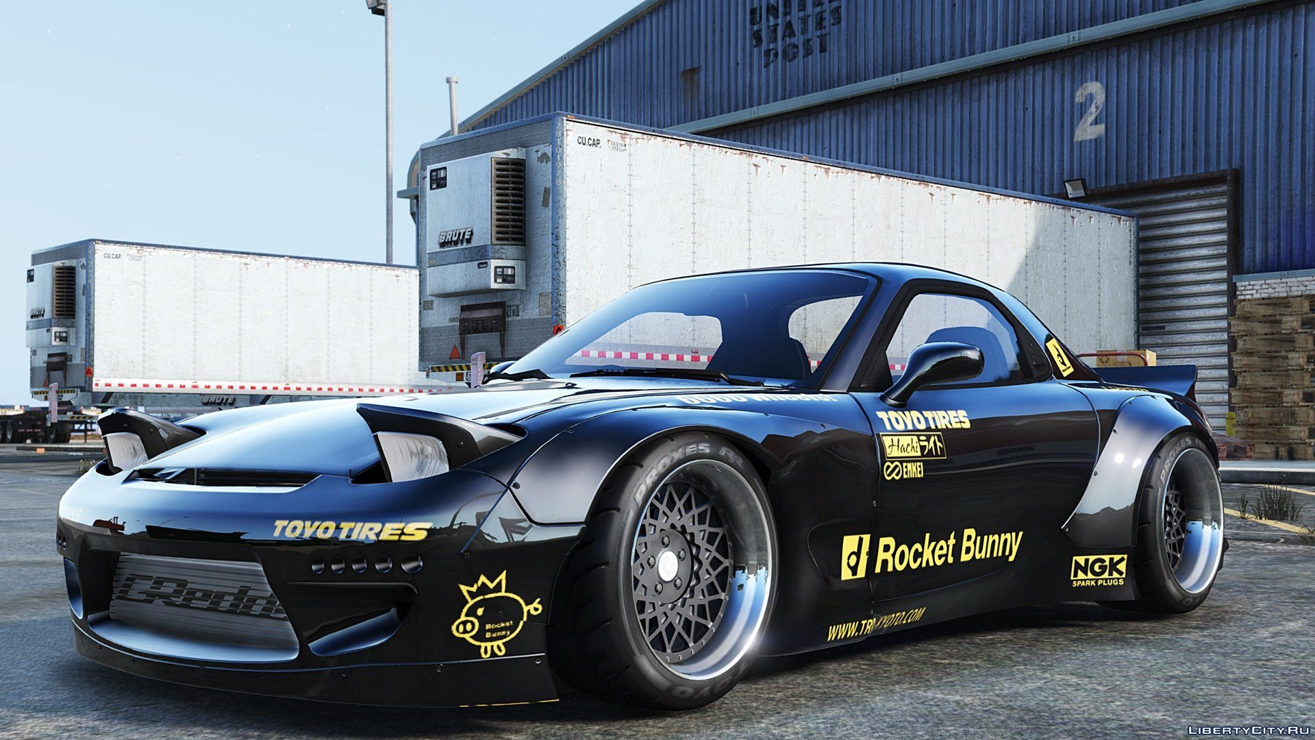 1992 Mazda Rx 7 Rocket Bunny 2 5 For Gta 5