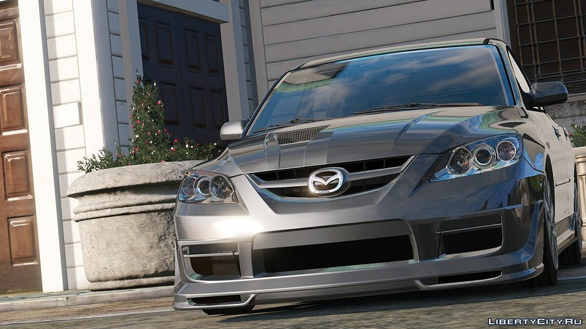 Mazda car 2009 Mazda Speed 3 [Add-on / Tuning / Livery / Template] version 1.0 for GTA 5