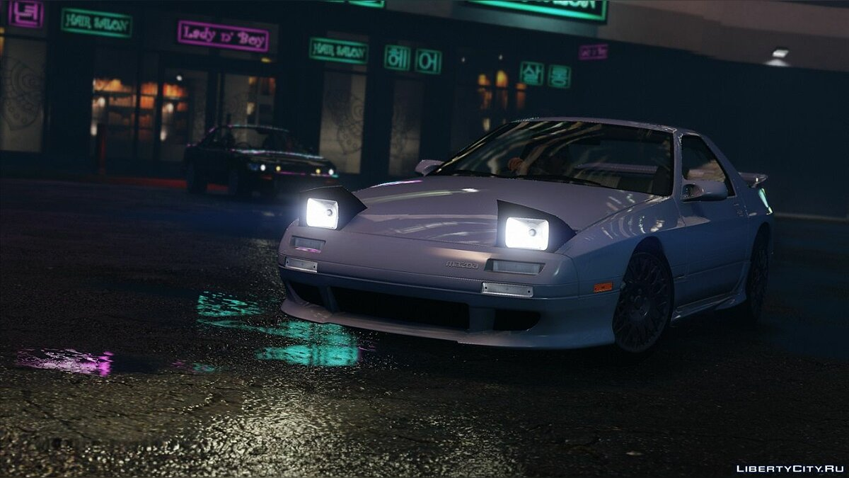 Mazda RX-7 FC3S [Add-On | Tuning | Template] 1.2 for GTA 5 - screenshot #8