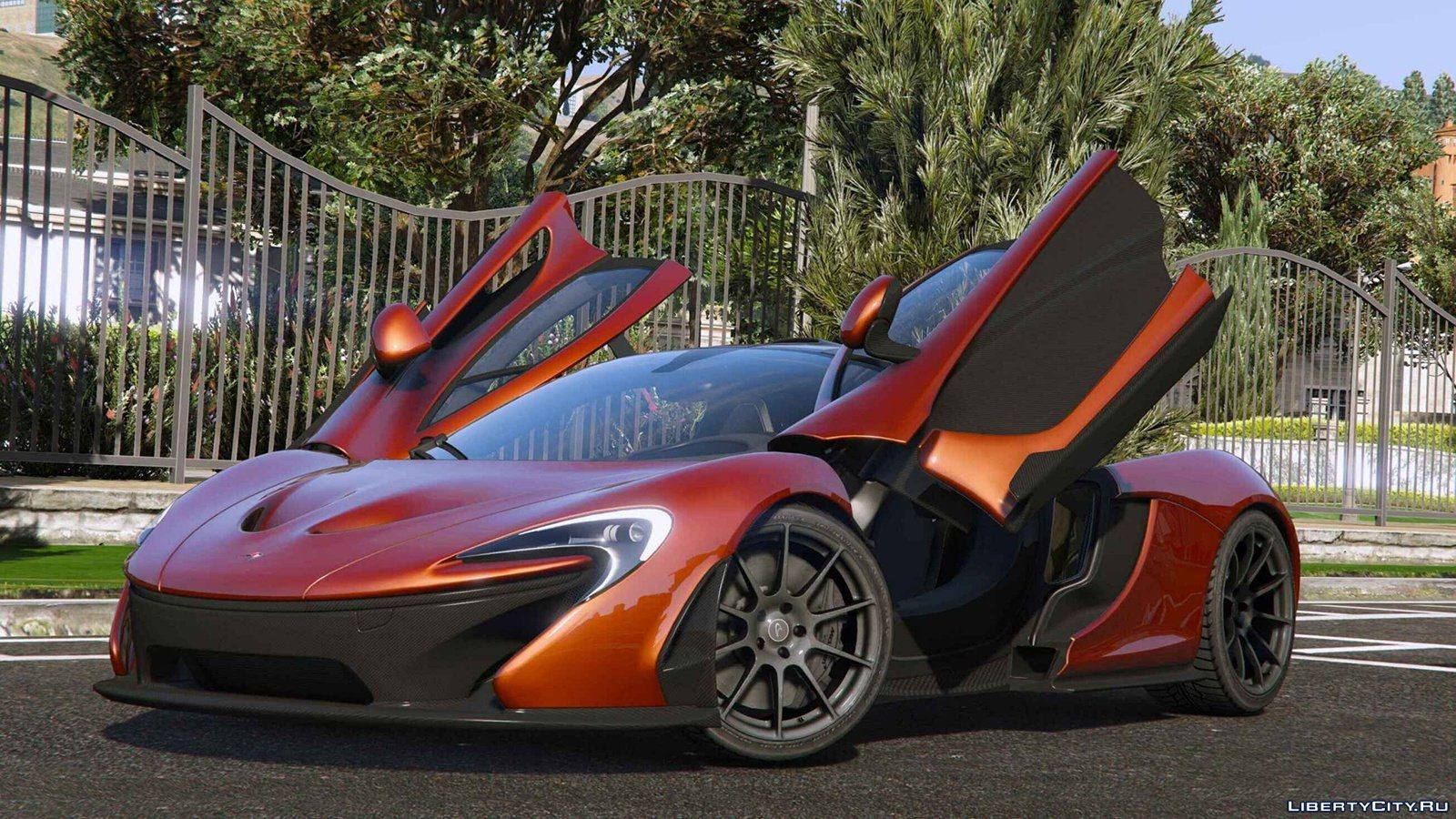 2014 McLaren P1 [Add-On Replace] v2.6 for GTA 5