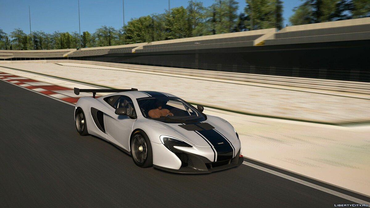 McLaren car 2015 McLaren 650S Sprint for GTA 5