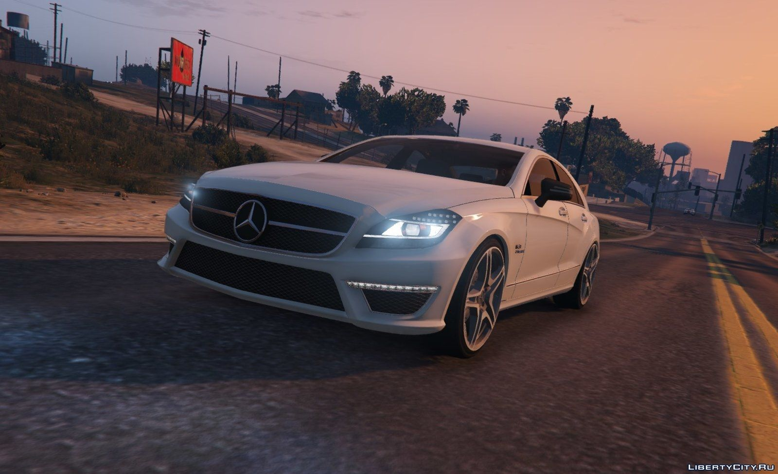 mercedes benz cls 6 3 amg for gta 5. Black Bedroom Furniture Sets. Home Design Ideas