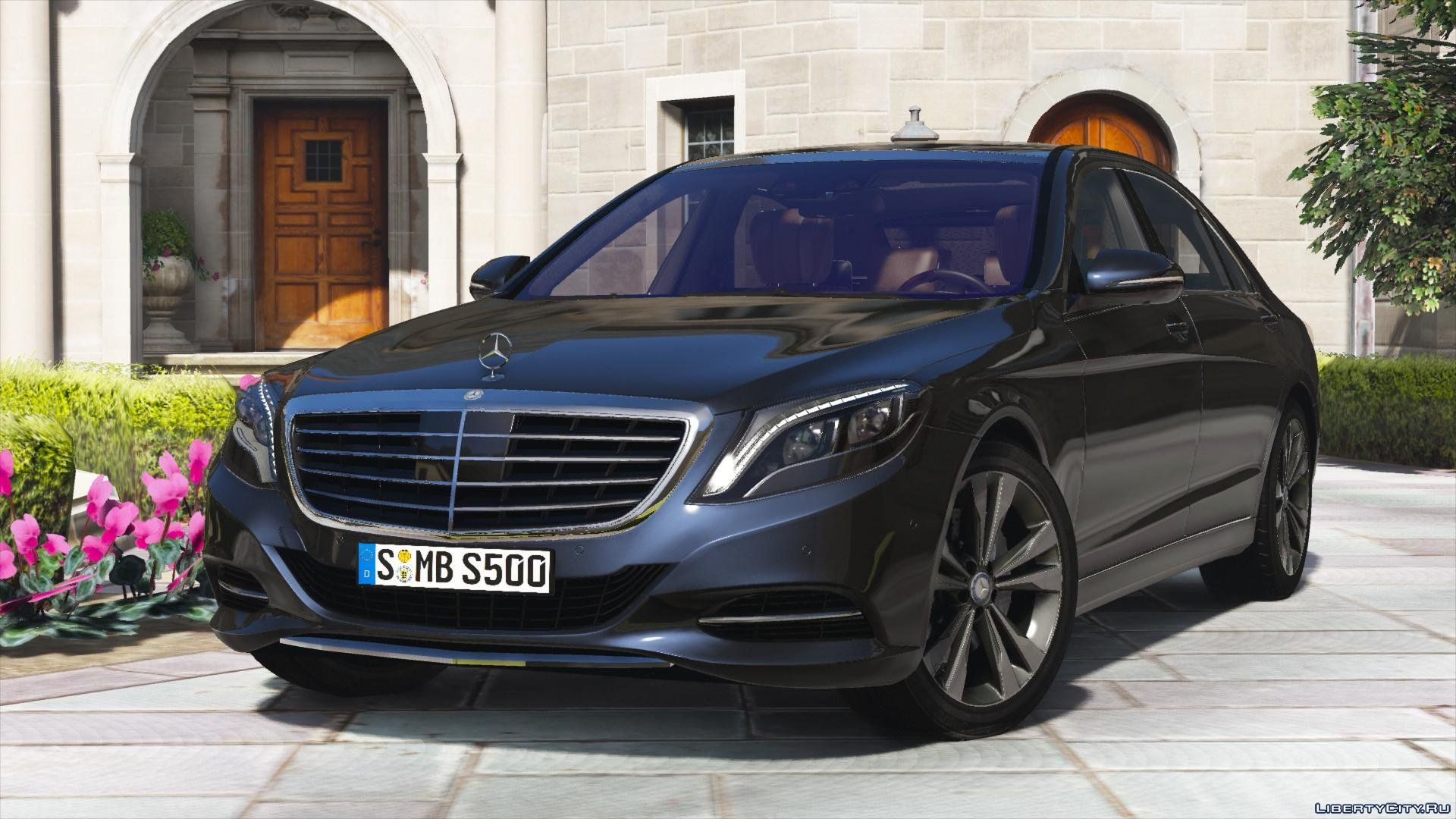 2014 mercedes benz s500 l s550 4matic w222 add on tuning for gta 5. Black Bedroom Furniture Sets. Home Design Ideas
