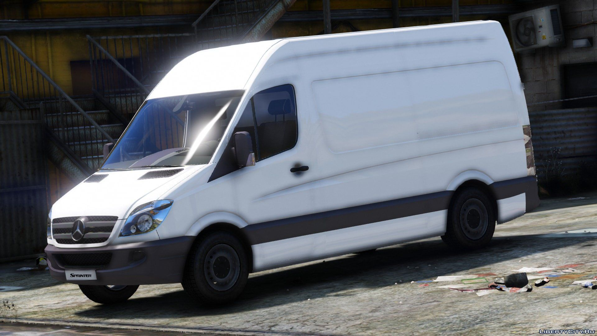 Mercedes benz sprinter 2011 unlocked dev for gta 5 for 2011 mercedes benz sprinter reviews