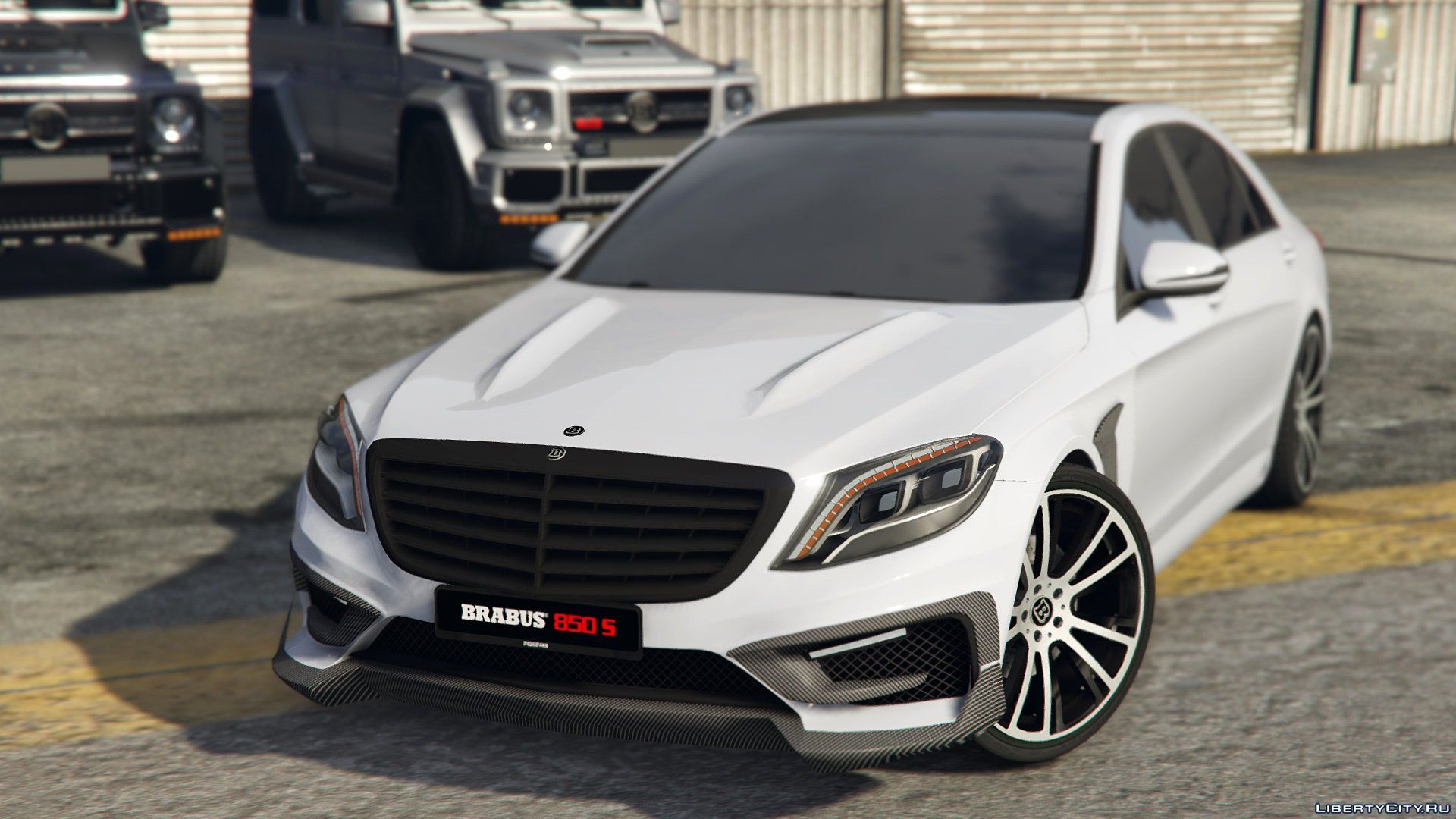 Mercedes benz brabus 850 s class replace 1 0 for gta 5 for Mercedes benz gta