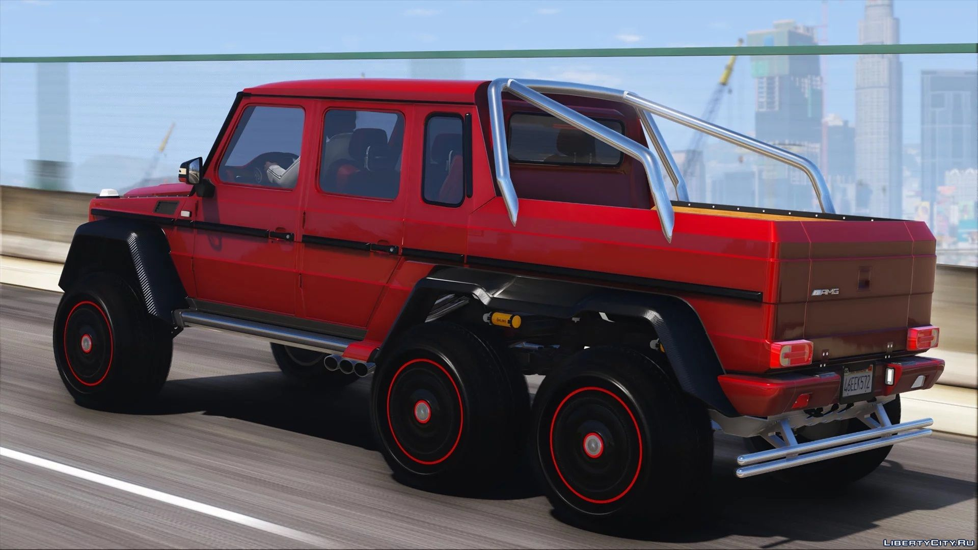 Mercedes Benz G63 Amg 6x6 Add On Tuning Template 1 0 For Gta 5