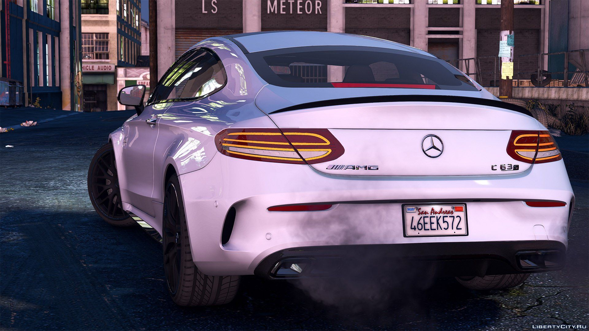2016 Mercedes C63 AMG S Coupe [Add-On | Replace | OIV