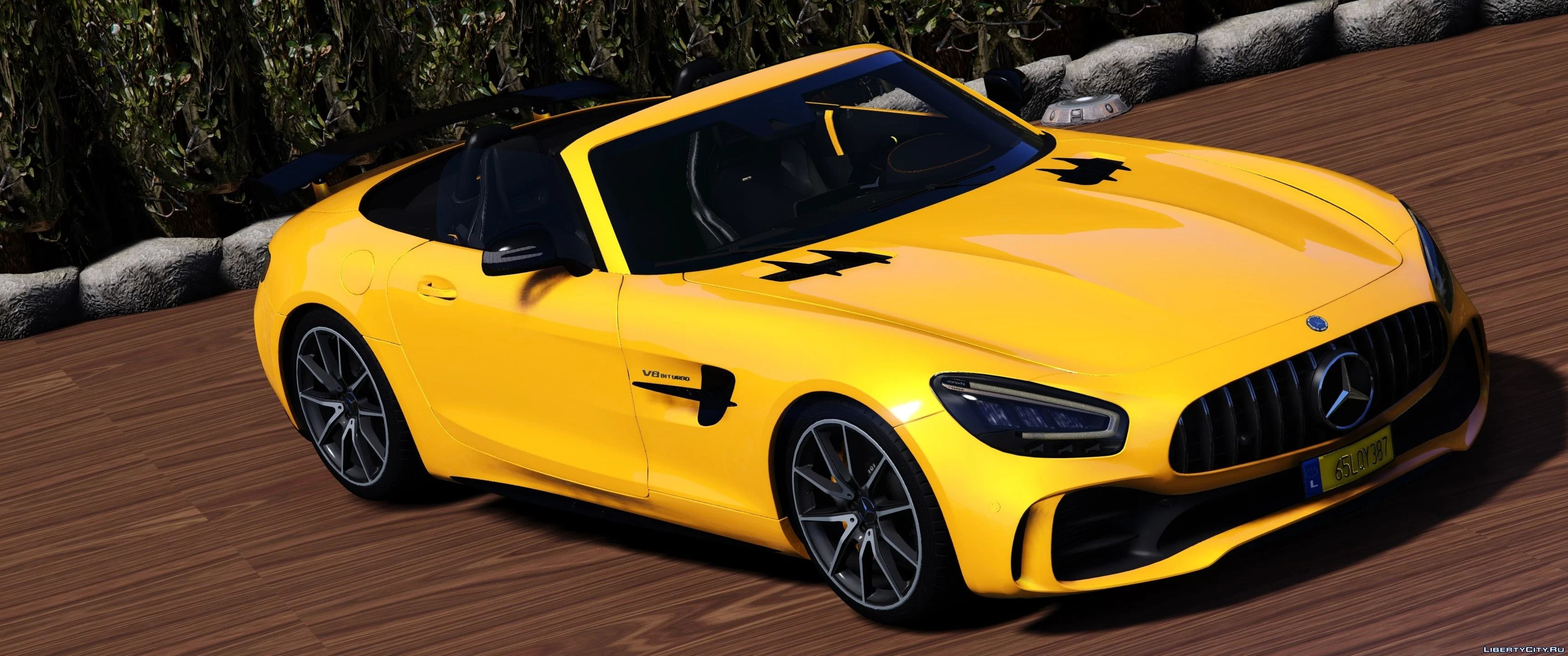 2020 Mercedes Benz Amg Gt R Roadster Animated Roof Add On Template 1 0 For Gta 5