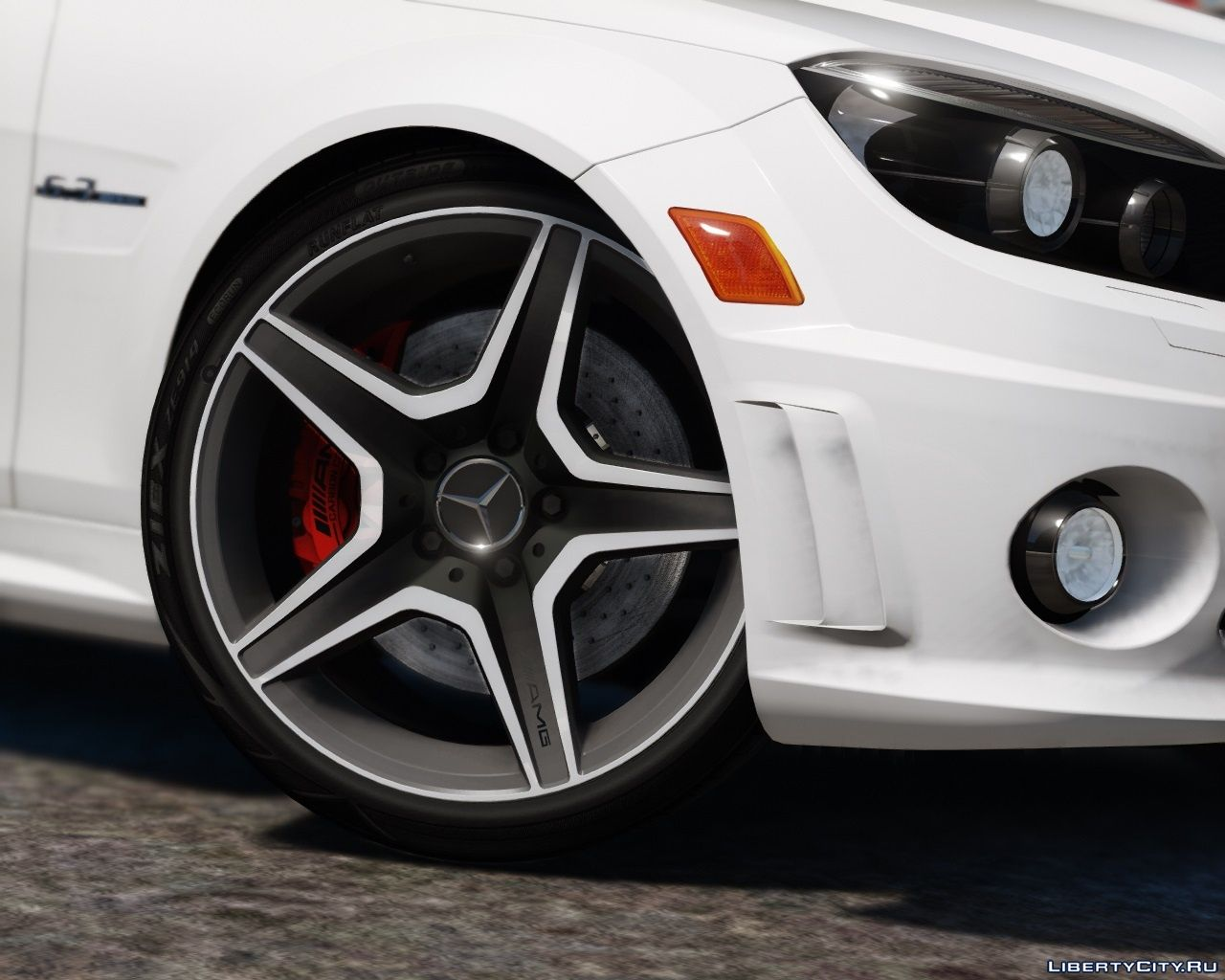 2011 Mercedes-Benz C63 AMG W204 [Add-On / Replace | Tuning