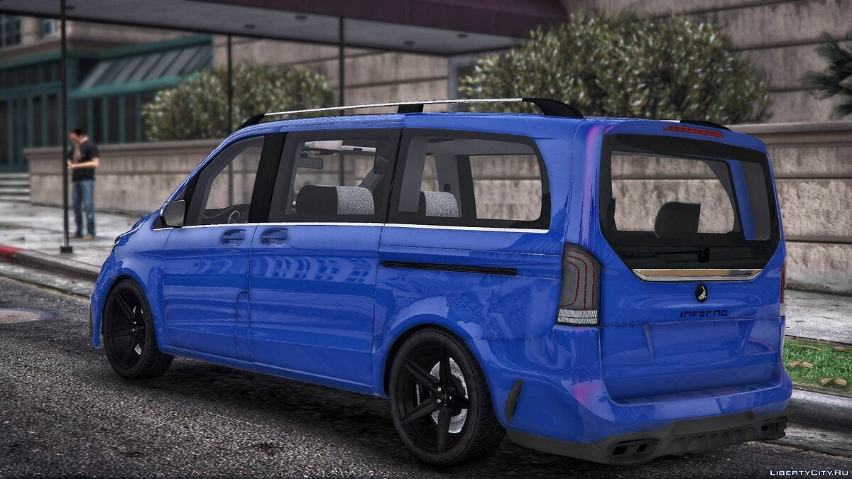 Mercedes-Benz car Mercedes-Benz Vito for GTA 5