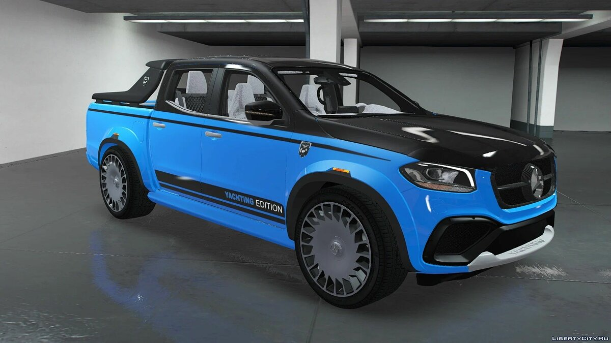 Mercedes-Benz car EXY Yachting Mercedes X-Class [ADDON / UNLOCKED] 1.0 for GTA 5