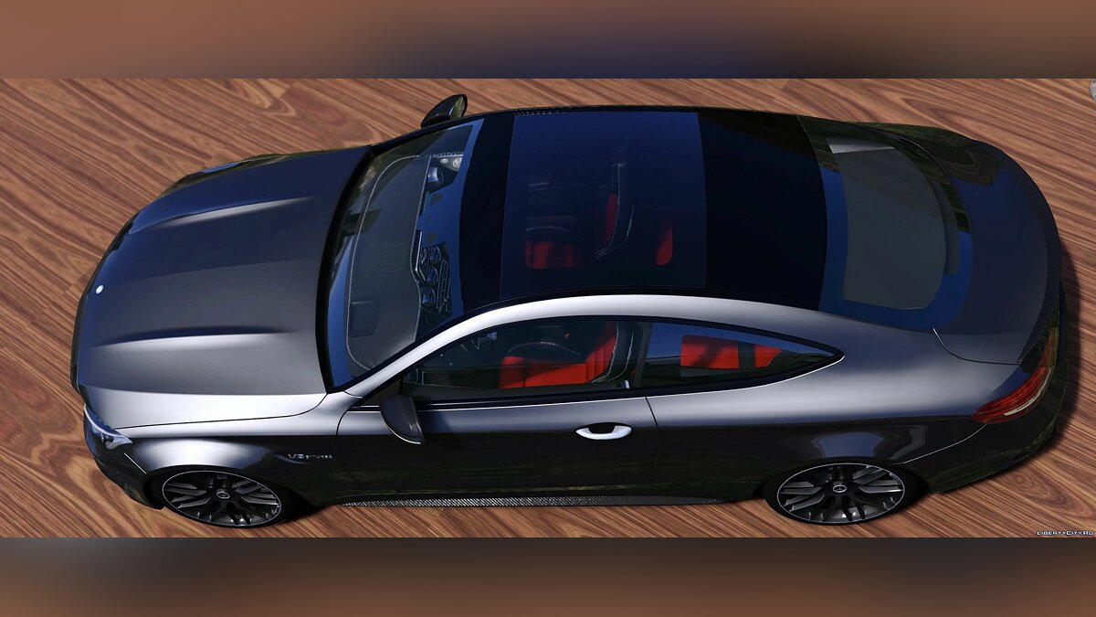 Mercedes-Benz car 2017 Mercedes Benz C63S AMG Coupe [Add-On | Tuning | Template] 1.1 for GTA 5
