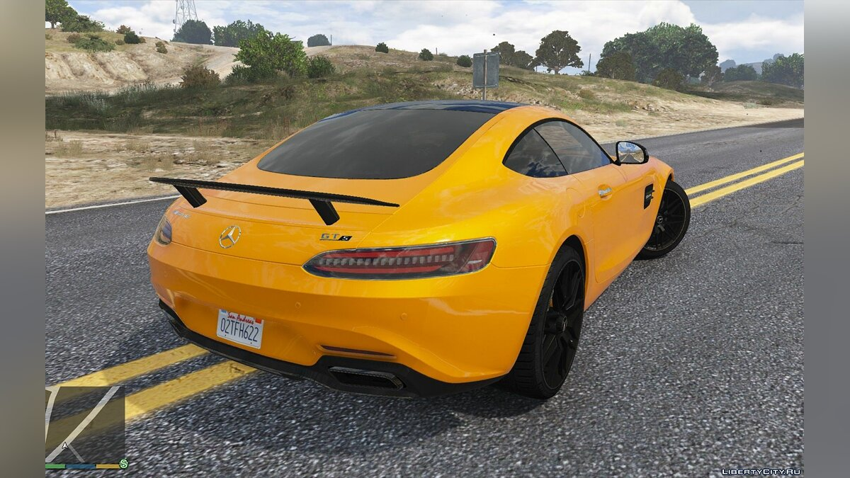 Mercedes-Benz car Mercedes-AMG GT S 2017 [Add-On / Auto Spoiler] 2.0 for GTA 5
