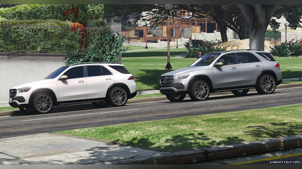 Mercedes-Benz car Mercedes-Benz GLE 450 4MATIC (V167) '2019 [Add-On | AO | Template] 1.0.0807 for GTA 5