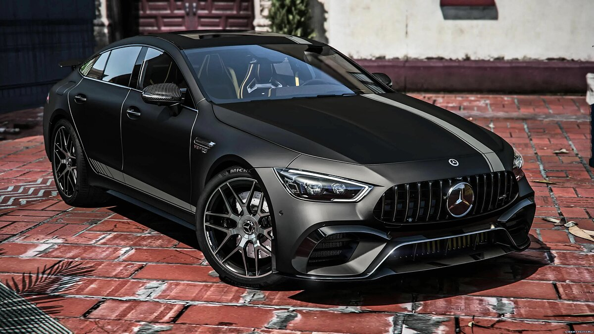Mercedes-Benz car Mercedes-Benz AMG GT63 2018 [Replace] 1.0 for GTA 5