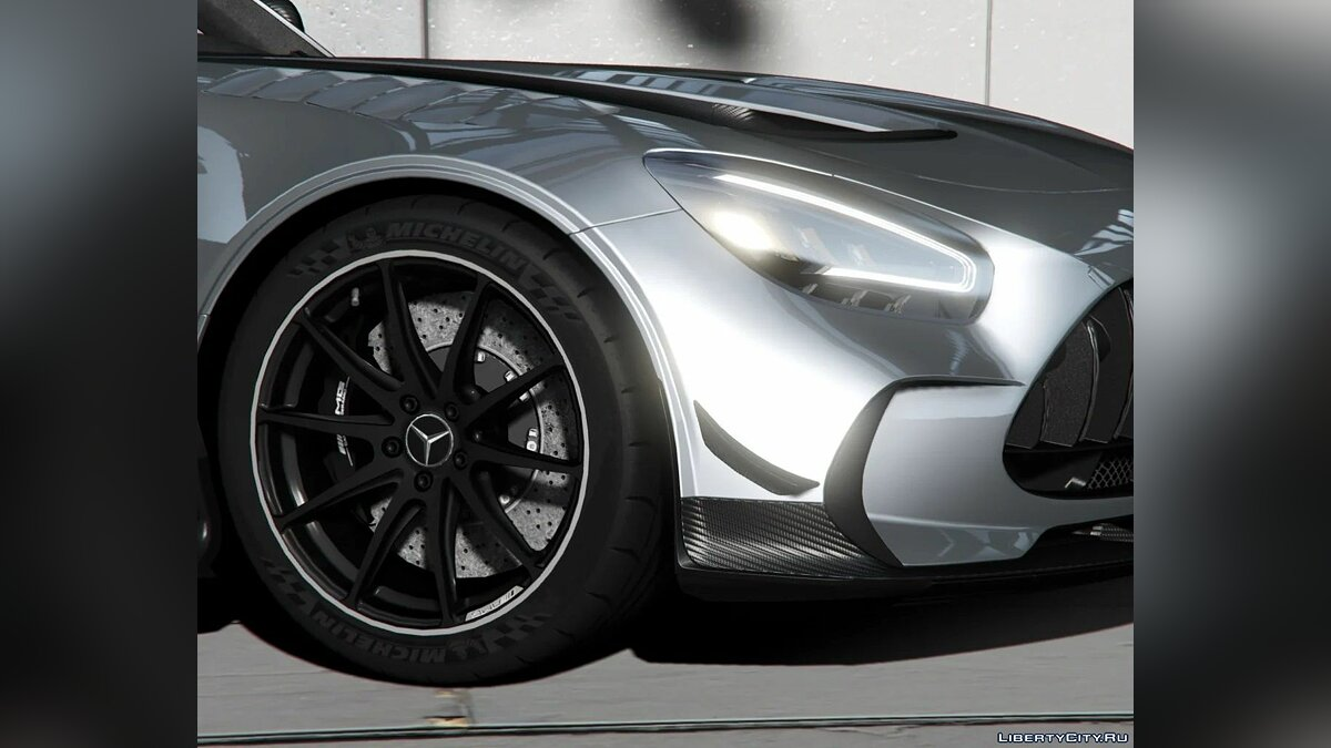 Mercedes-Benz car 2020 Mercedes Benz AMG GT Black Series [Add-On | LODs | Template] 1.1 for GTA 5