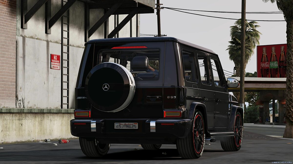 Mercedes-Benz car 2019 G63 /// AMG (Add-on) 1.0 for GTA 5