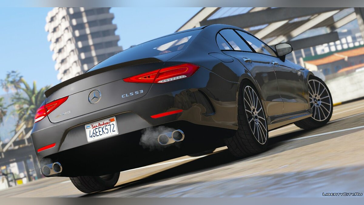 Mercedes-Benz car 2019 Mercedes-Benz CLS 53 AMG 4MATIC+ [Add-On / Replace] 1.1 for GTA 5