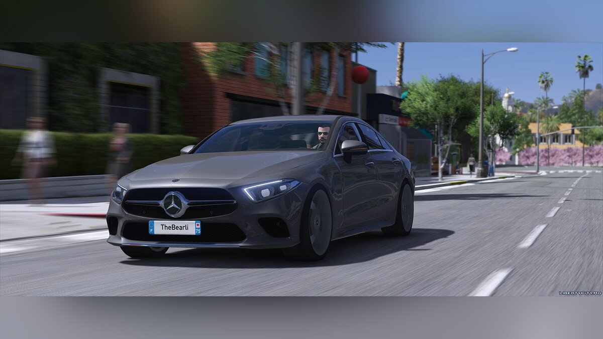Mercedes-Benz car Mercedes-Benz Cls 2019 [Replace] 1.2 for GTA 5