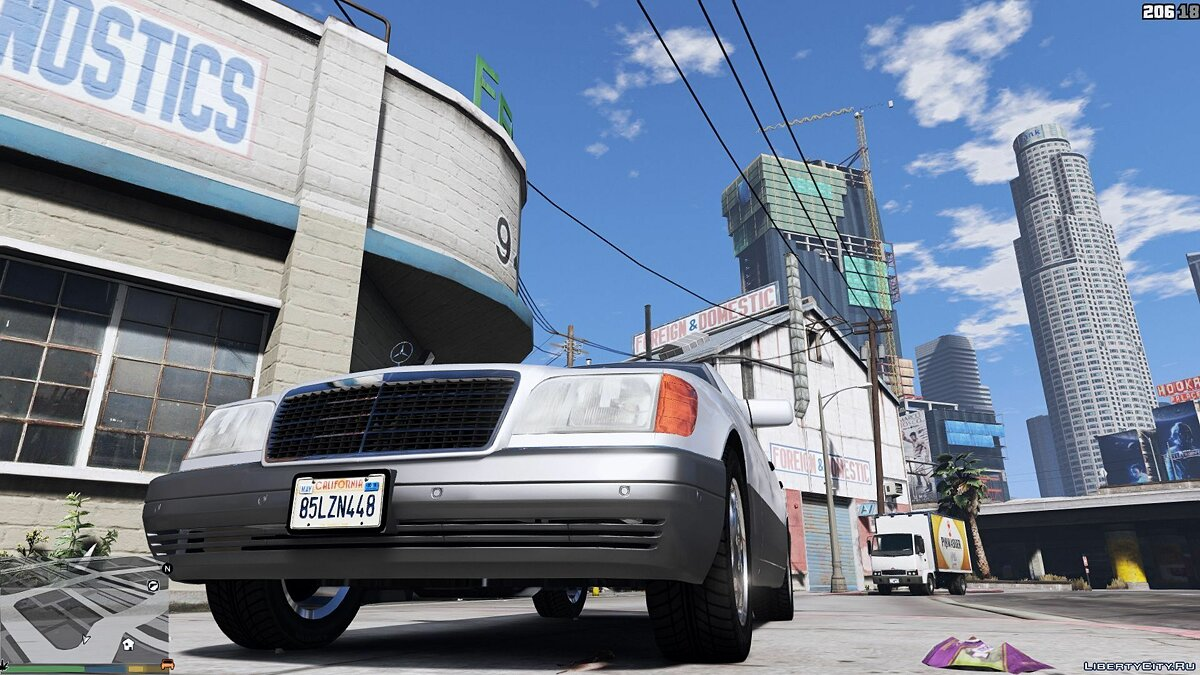 Mercedes-Benz car Mercedes-Benz S600 (W140) [Replace / Tuning] 1.0 for GTA 5