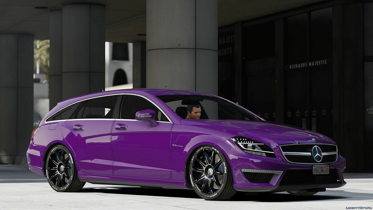 Mercedes-Benz car CLS63 /// AMG Shooting (Add-on) 1.0 for GTA 5