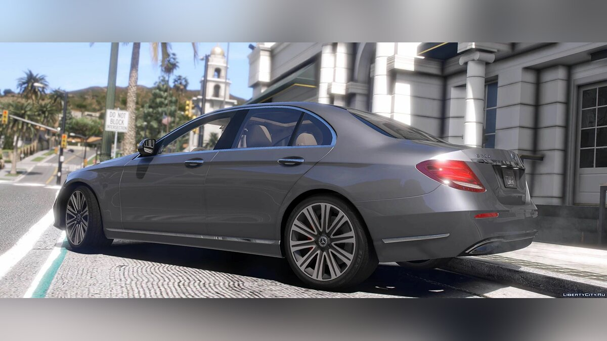 Mercedes-Benz car 2017 Mercedes-Benz E300 4matic (W213) [Add-On   Replace] 1.0 for GTA 5