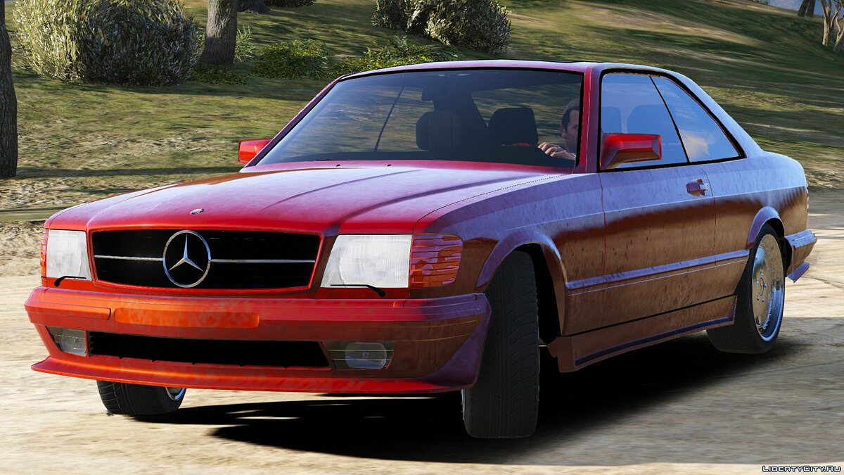 Mercedes-Benz car Mercedes Benz 560 SEC 1991 W126 Coupe [Add-On | Replace] 1.2 for GTA 5