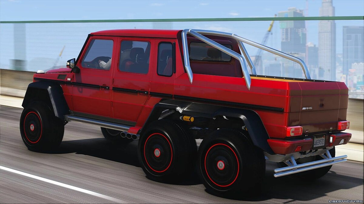 Mercedes-Benz car Mercedes-Benz G63 AMG 6x6 [Add-On | Tuning | Template] 1.0 for GTA 5