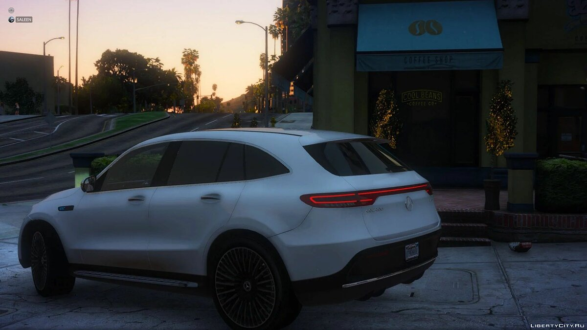 Mercedes-Benz car 2020 Mercedes-Benz EQC400 [Add-on] 1.1 for GTA 5