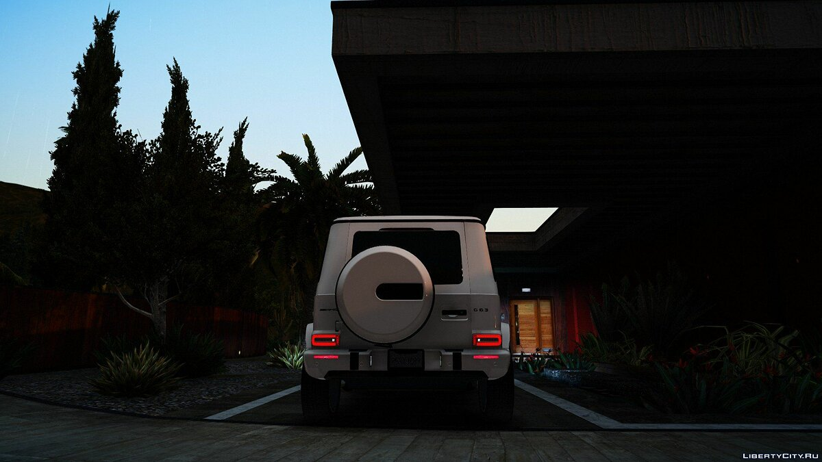 Mercedes-Benz car Mercedes-Benz AMG G63 2019 [Add-On / Replace] for GTA 5