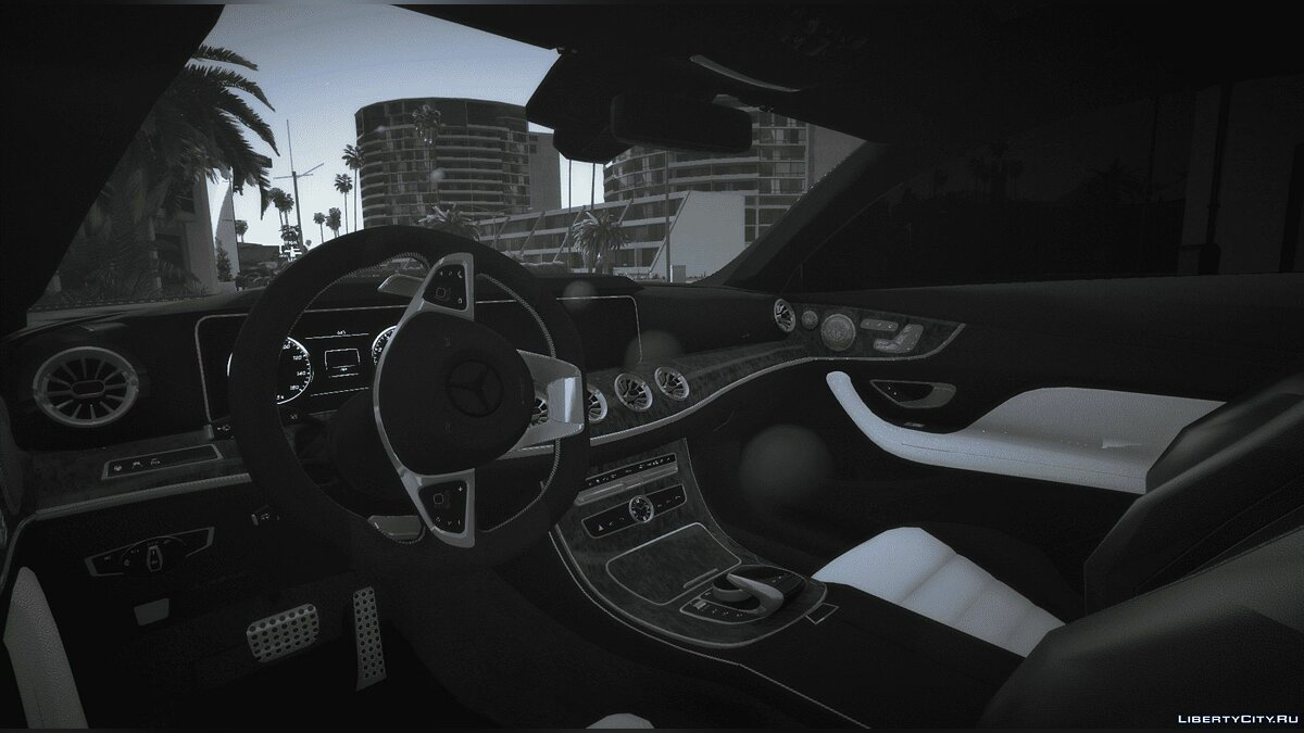 Mercedes-Benz car 2018 Mercedes-Benz E53 AMG Coupe | Add-On | Sound 2.0 for GTA 5
