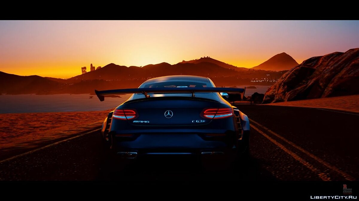 Mercedes-Benz car Mercedes-AMG C63 S Coupe Widebody [Add-On / OIV] for GTA 5
