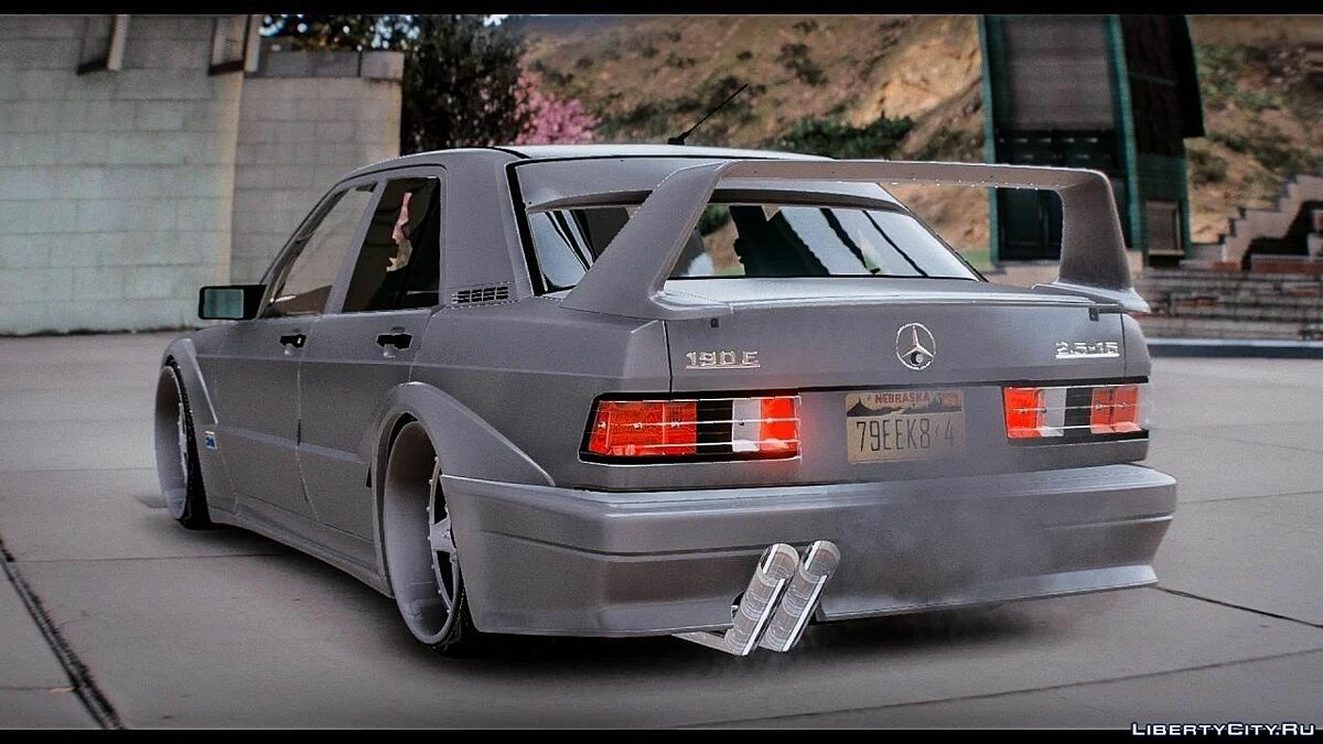 Mercedes-Benz car Mercedes-Benz 190E [Add-On / Replace] 1.0 for GTA 5