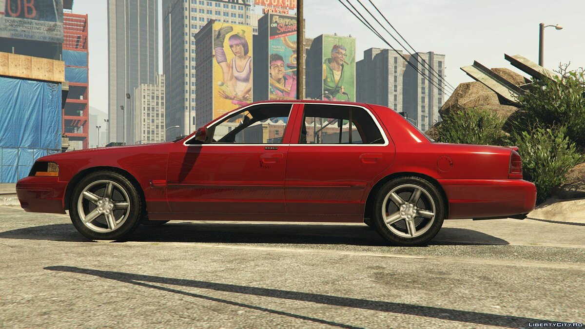 Mercury car 2003/4 Mercury Marauder for GTA 5